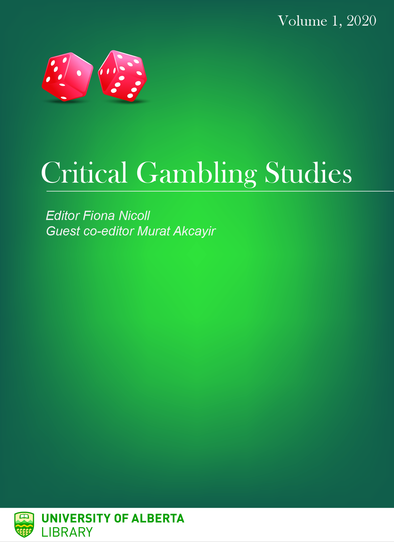 Critical Gambling Studies Volume 1